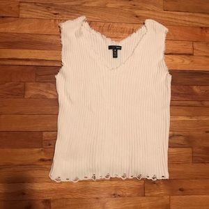 Aqua - Knit Sweater Tank